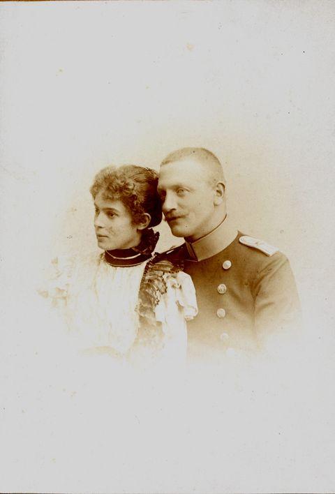 Ottillie von Faber si Alexander Graf von Castell-Rüdenhausen