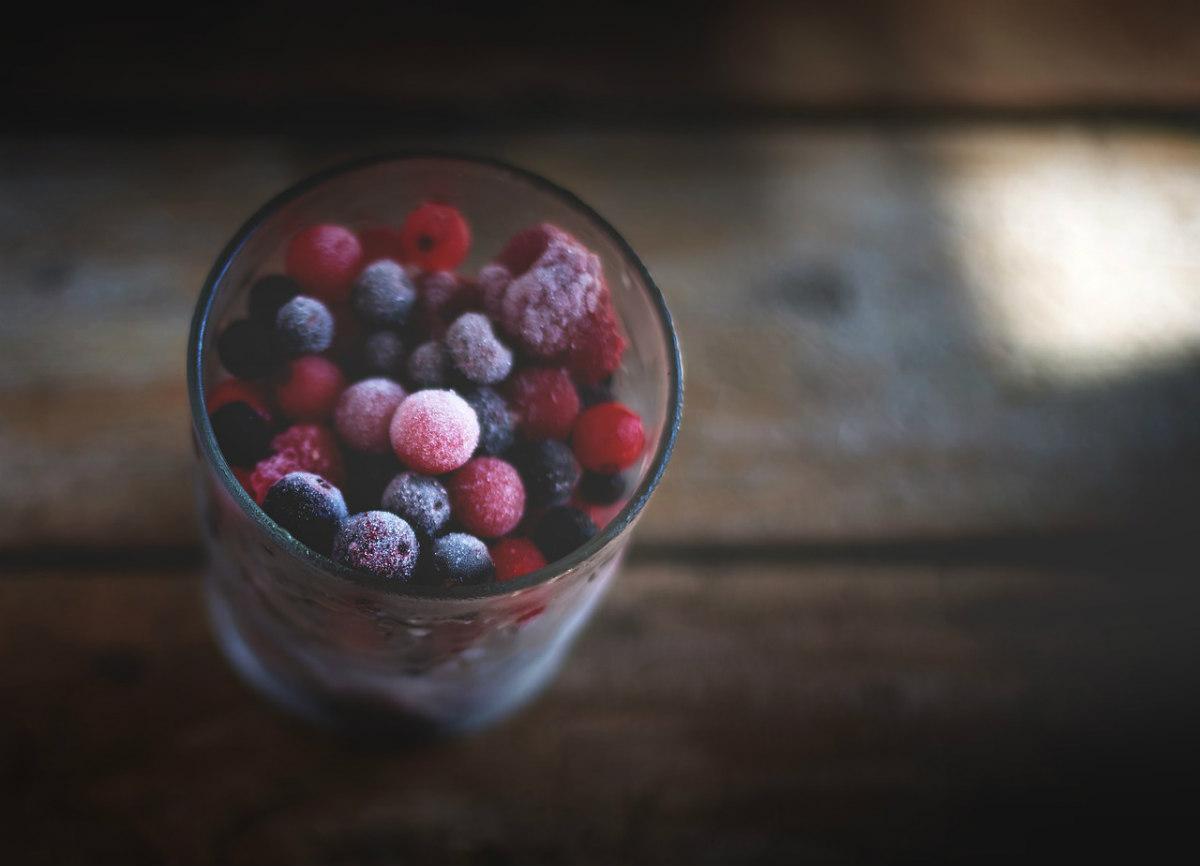 fructe de vara congelate